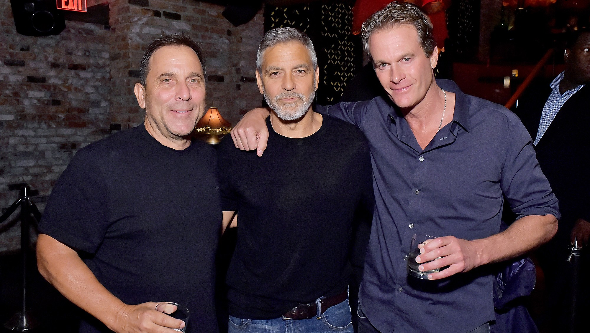 Mike Meldman, George Clooney, Proud Dad, Rande Gerber, Casamigos House of Friends Dinner